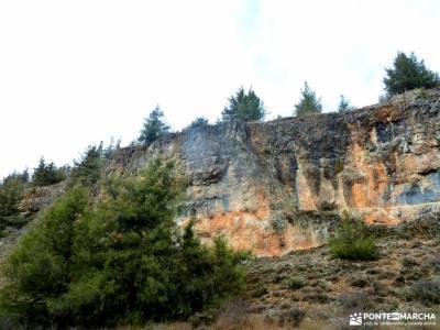 Cañones del Río Lobos y Valderrueda;senderismo en toledo laguna negra neila mochila grande parque